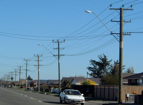 TTT Utility Poles | TTT Products | Producers of New Zealand Pine Poles